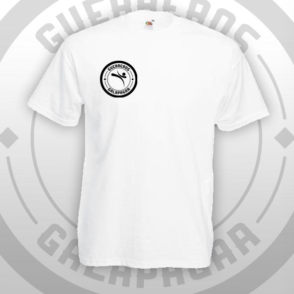 Camiseta blanca Oficial Guerreros Galapagar