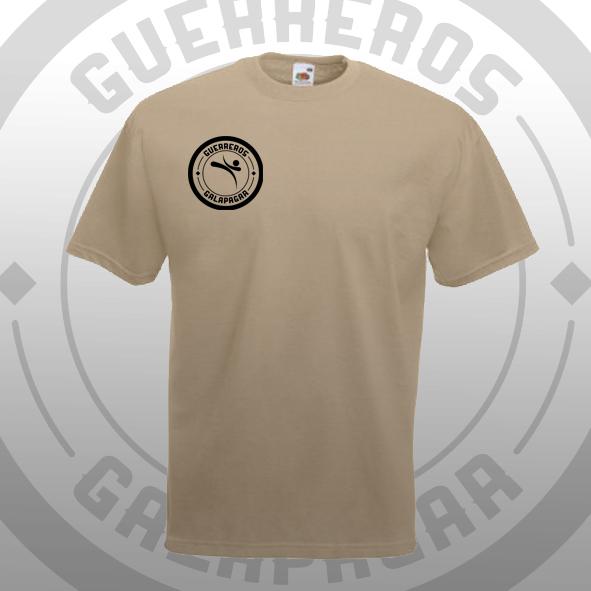 Camiseta avena Oficial Guerreros Galapagar