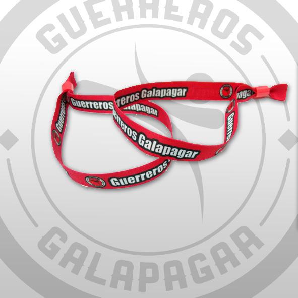 Pulsera Oficial Guerreros Galapagar