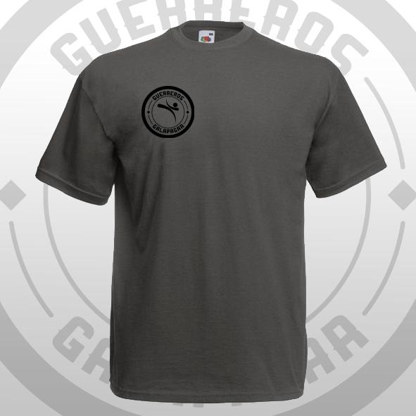 Camiseta gris Oficial Guerreros Galapagar