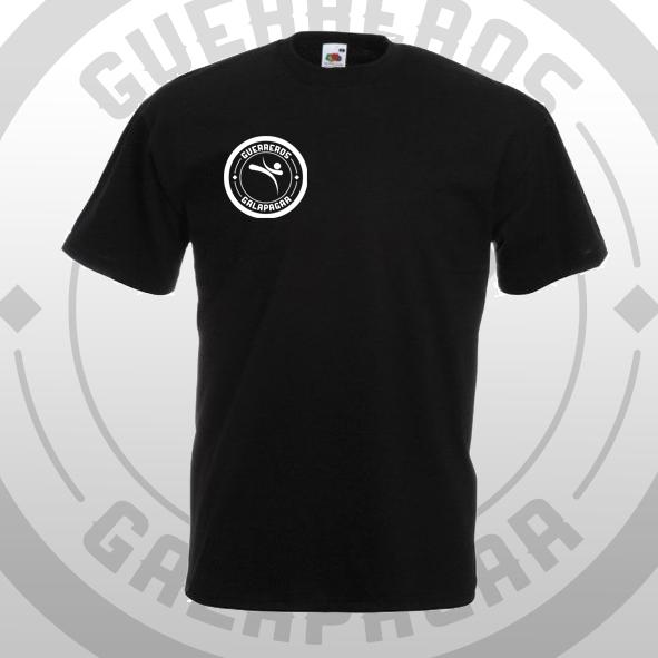 Camiseta negra Oficial Guerreros Galapagar