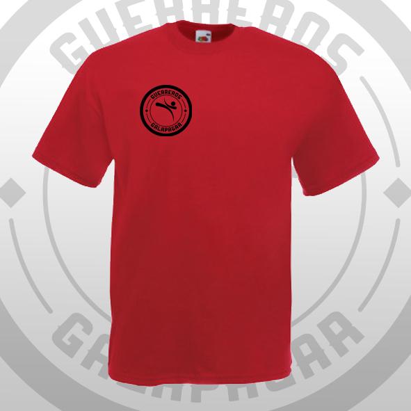 Camiseta roja Oficial Guerreros Galapagar